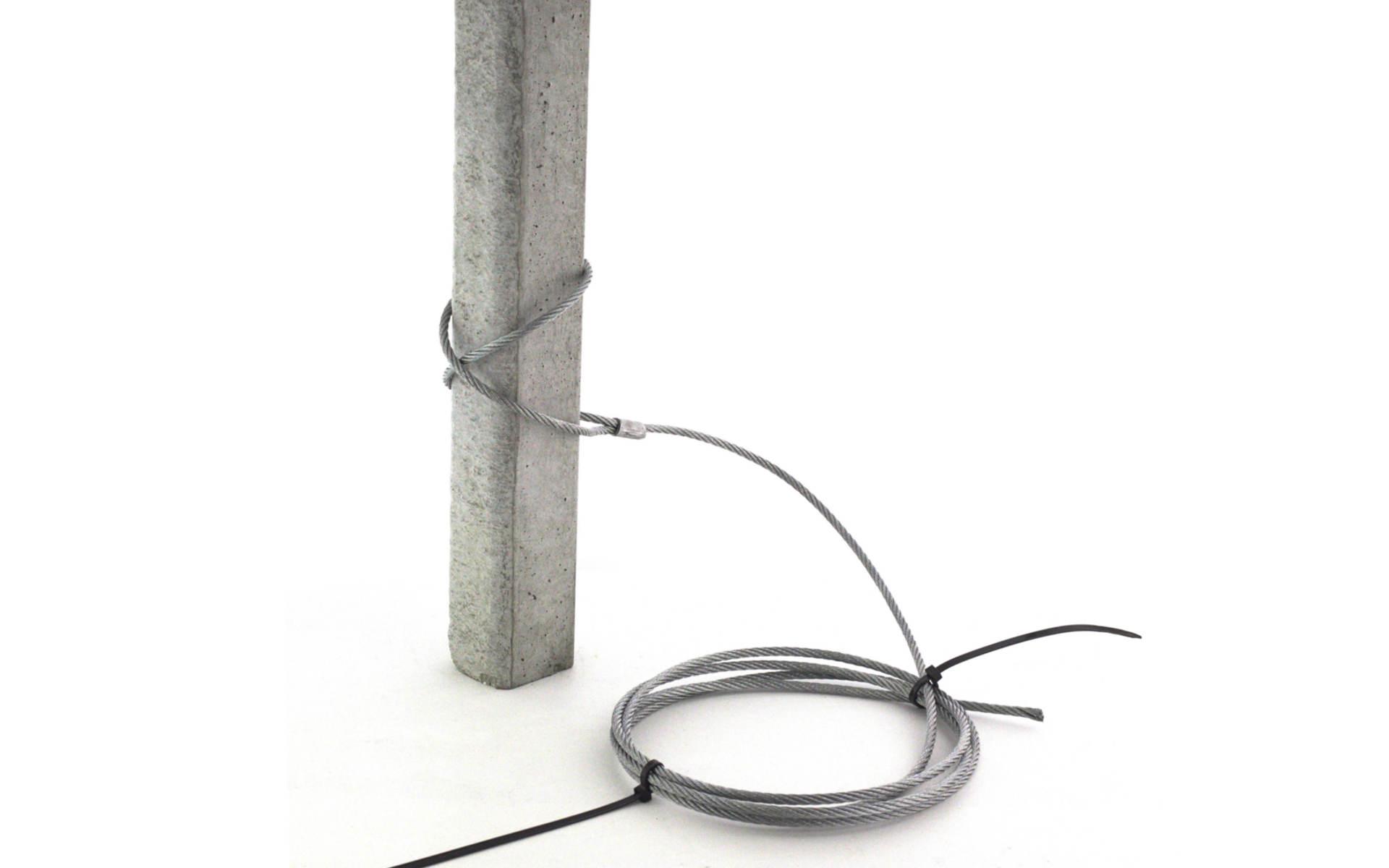 ankerseil 8 mm mit se standard l nge 5 0 m agrifix. Black Bedroom Furniture Sets. Home Design Ideas